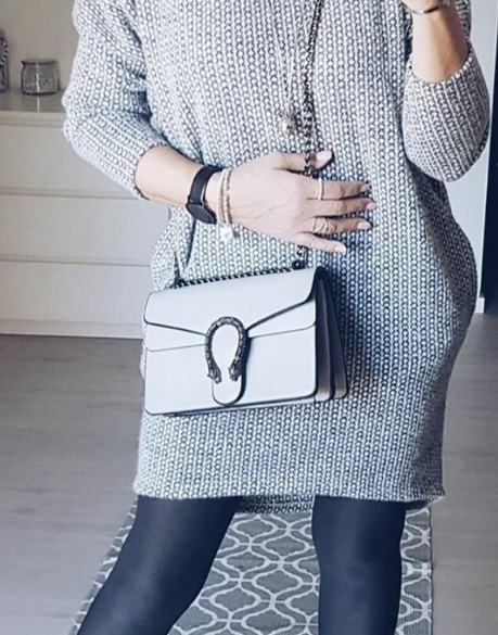 Longpullover in Grau - ...by SL