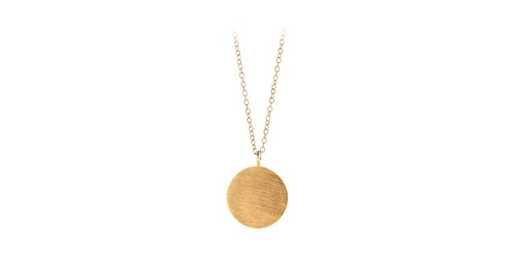Coin Neclace in Gold von Pernille Corydon Jewellery