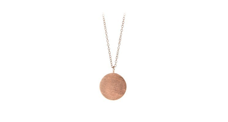 Coin Necklace in Rosegold - Pernille Corydon Jewellery