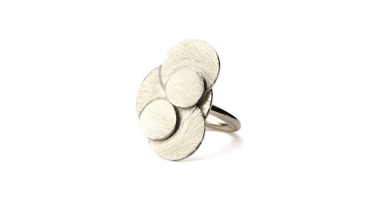 Ring Coin Adjustable in Silber - Pernille Corydon