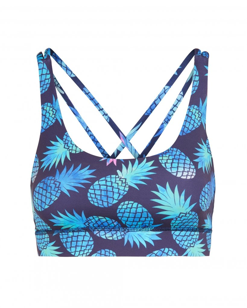 Criss-Cross Bra Pineapple - Hey Honey