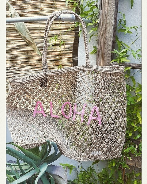 venice beach bag aloha - black colour