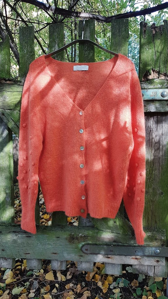 strickjacke in 4 farben - ...by sl