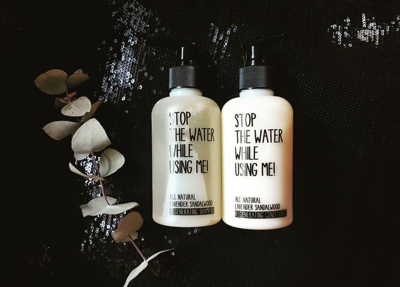 conditioner lavendel sandelholz - stop the water