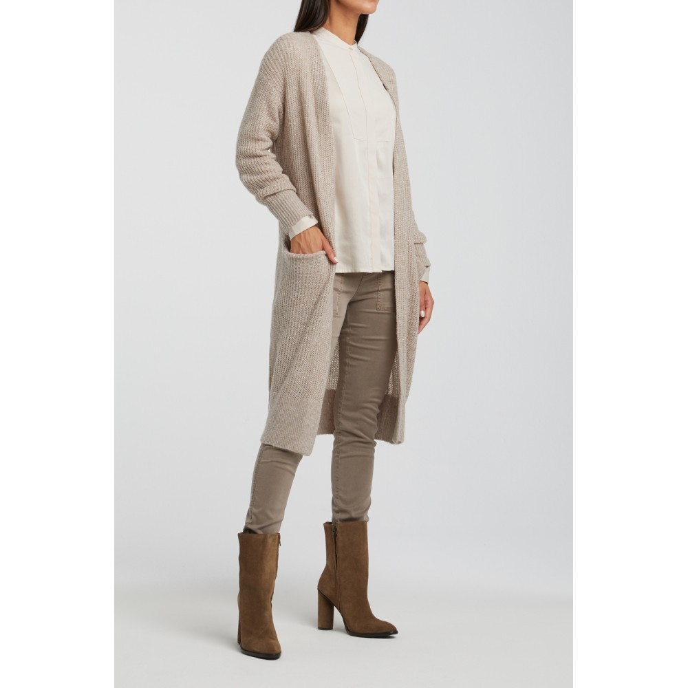 longcardigan in beach sand - yaya