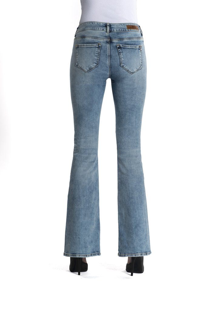 jeans laura light blue - c.o.j.