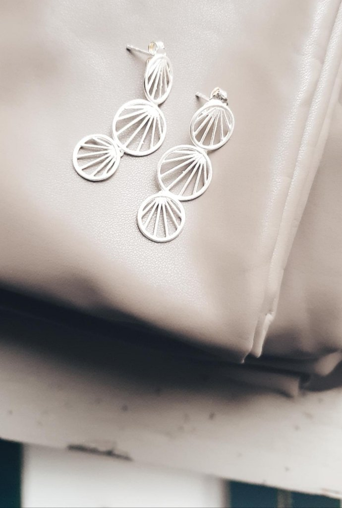 sunray earrings in silber - pernille corydon