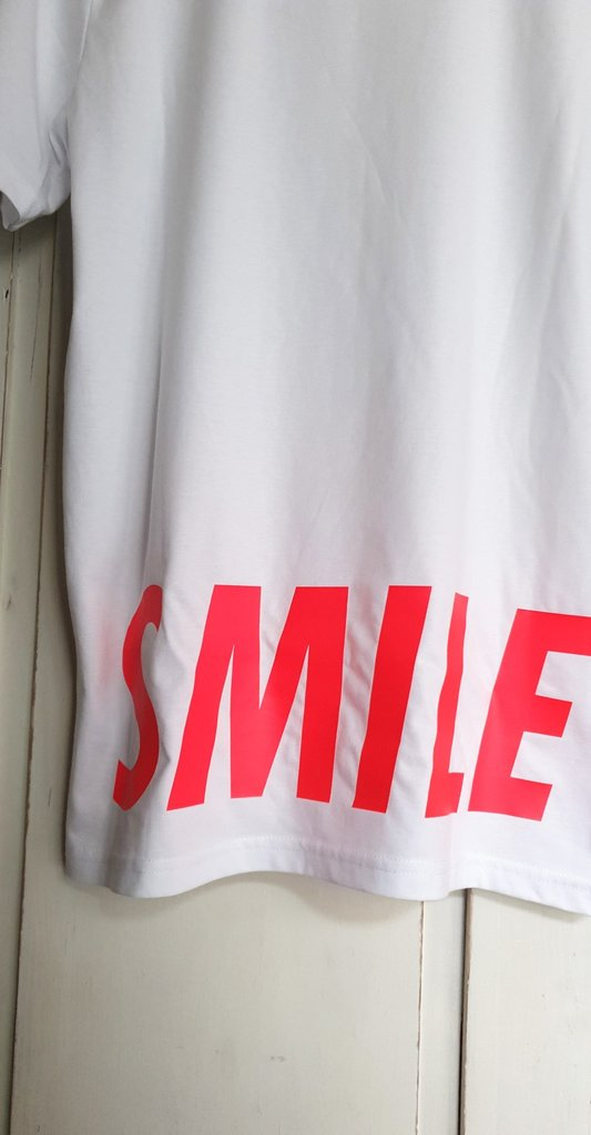 t-shirt 'smile', 100% organic cotton - julove