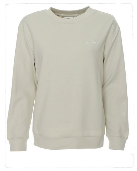 sweater je t´aime in pal green